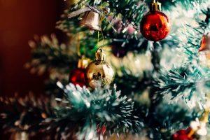 arbre de noël pour fêter les fêtes de fin d'année